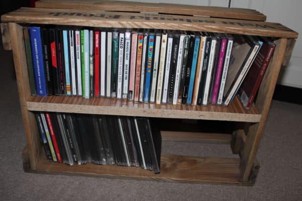 Wine Box Cd Shelf O Recyclart