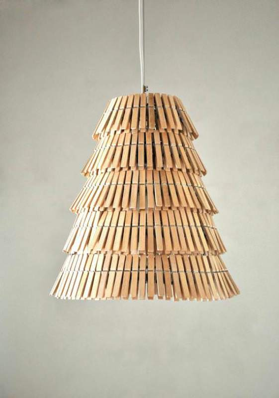 Clothespin Pendant Lamp Lamps & Lights