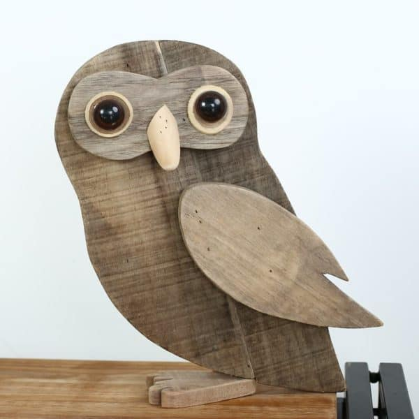 Vintage wooden animal decorations recycled ideas recyclart