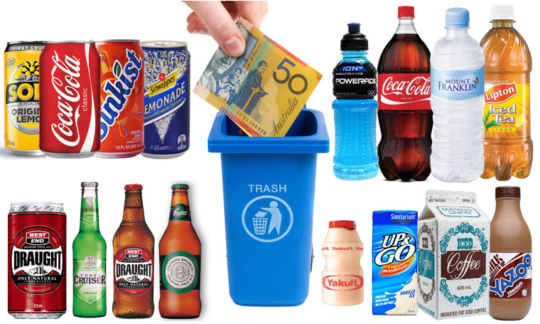 Container Deposit Refund Products Sold In Adelaide Sa