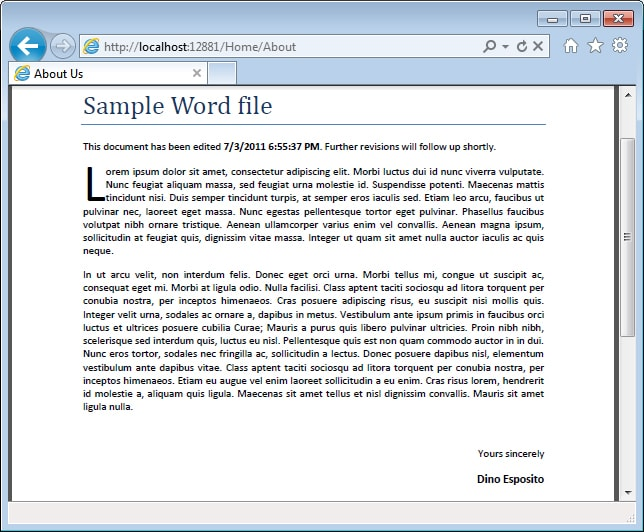 word file sample - Kordurmoorddiner