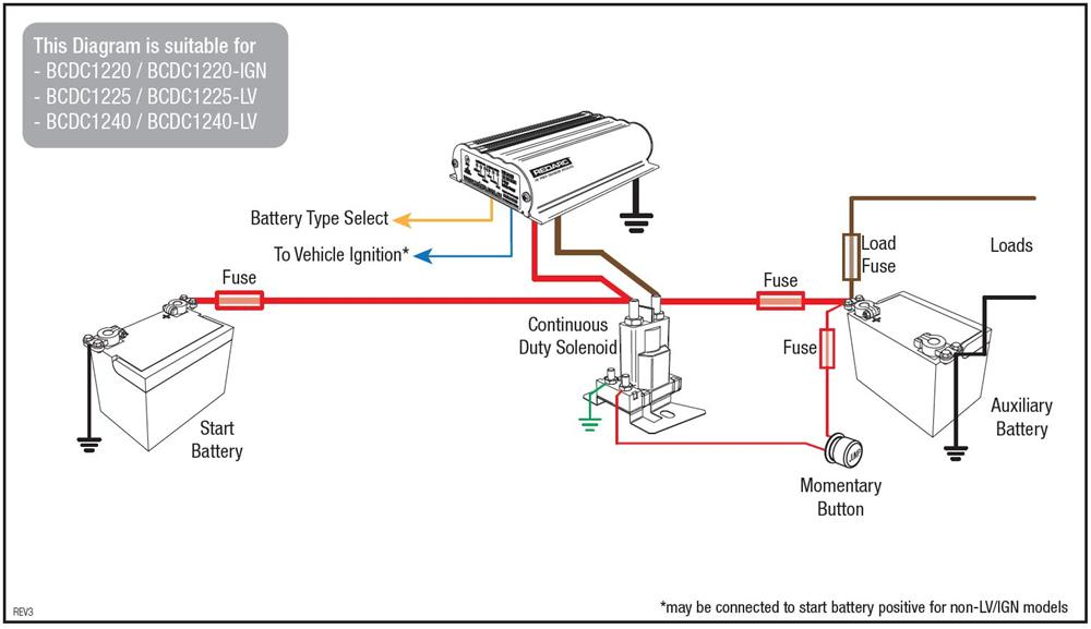 dual car battery wiring diagram