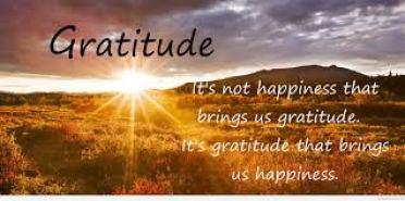 gratitude brings happiness