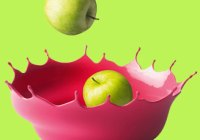 Modern & Funky Fruit Bowls - Red Candy