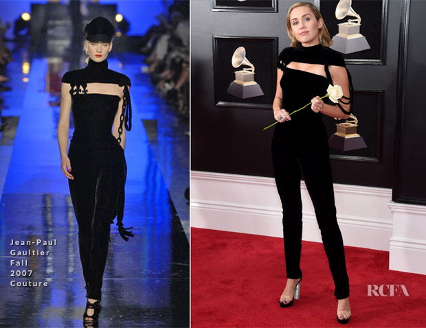 Miley Cyrus Red Carpet Fashion Awards