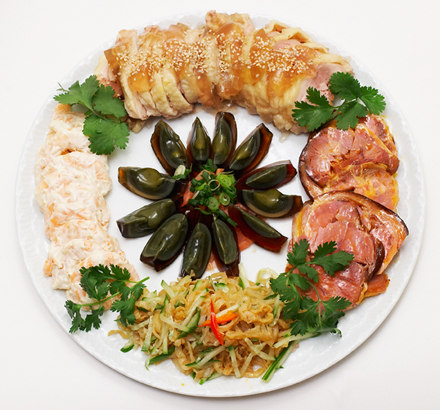 Assorted Cold Appetizers