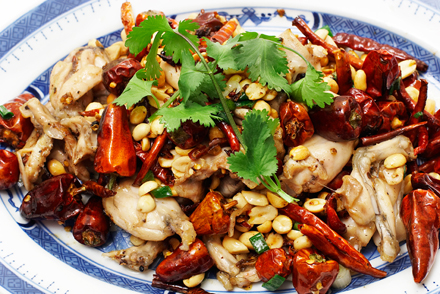 Kung Pao Frogs