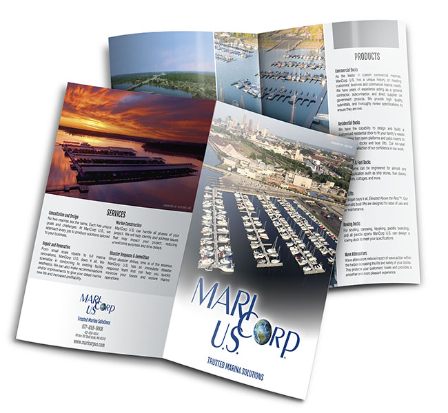 MariCorp US Services Brochure Red Crow Marketing