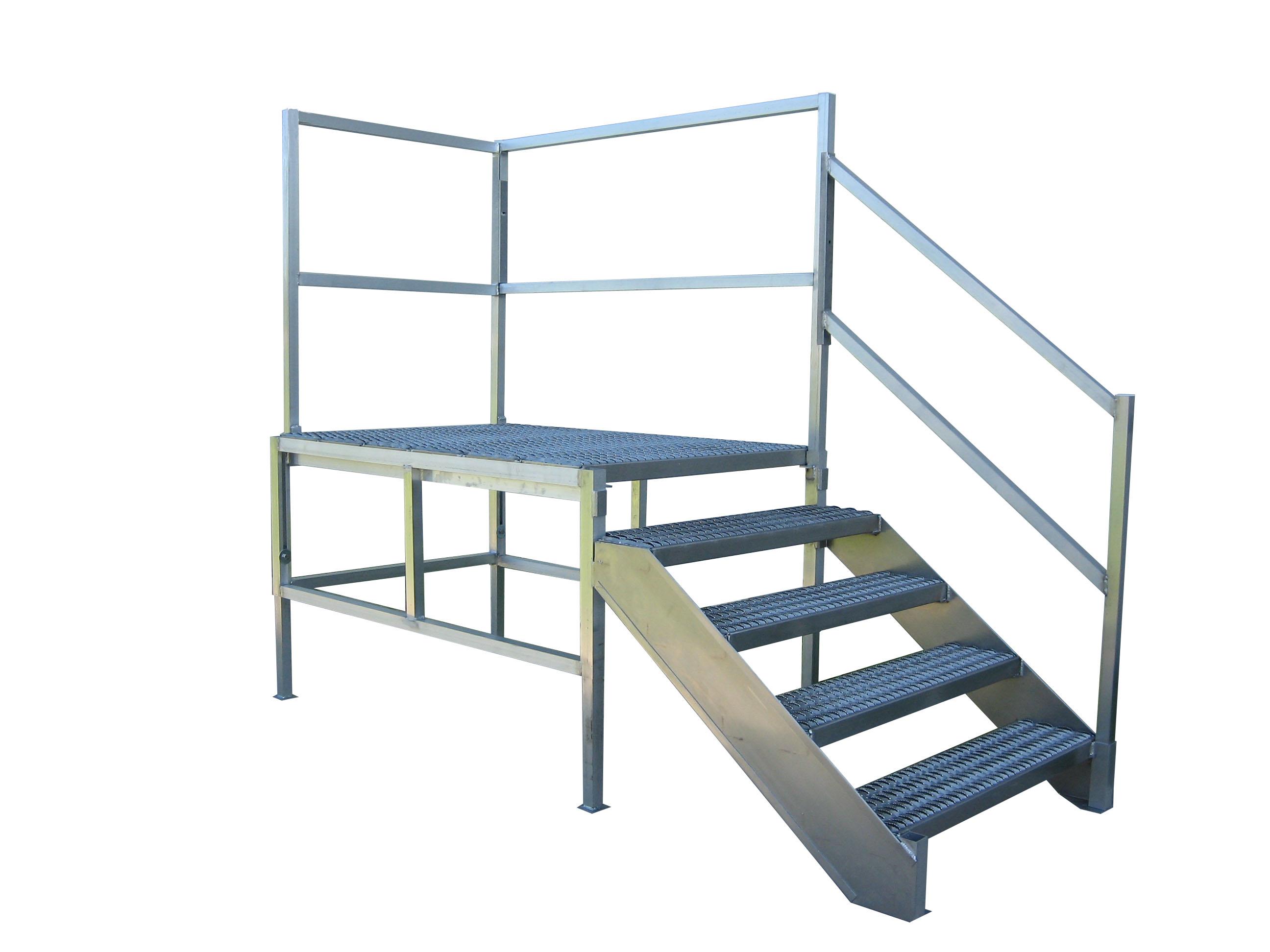 Dura Grip Osha Aluminum Stairs Redd Team