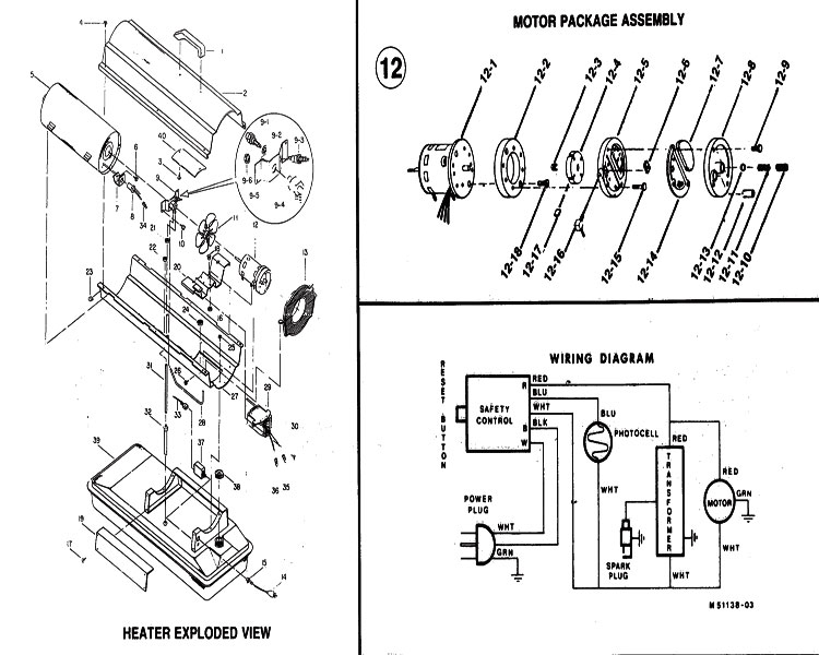 reddy heater 170t wiring diagram