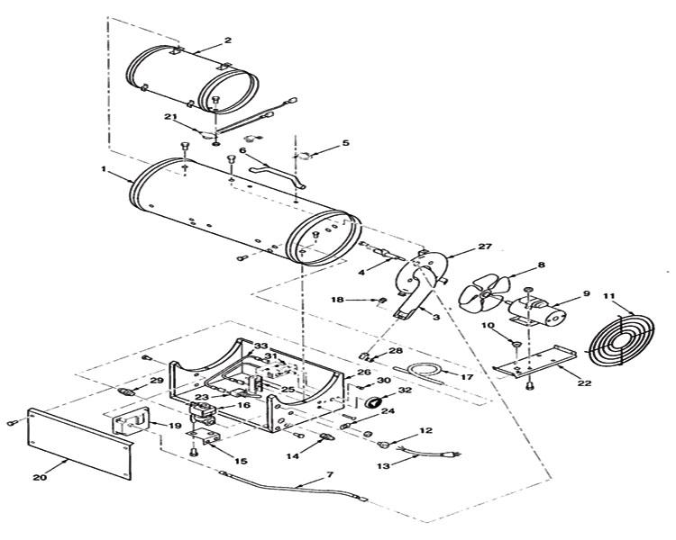 REDDY HEATER WIRING DIAGRAM - Auto Electrical Wiring Diagram