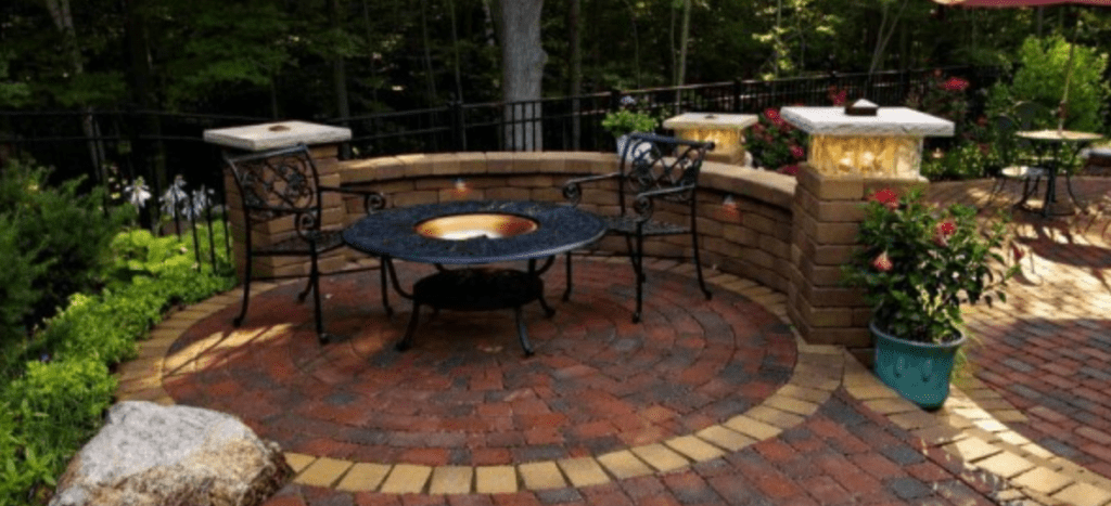 Fire Pits Are Hot And Legal Reder Landscaping Landscape Design Lawn Care
