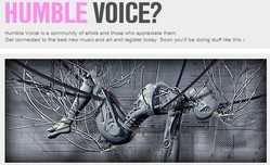 humblevoice small Humble Voice   artist community done right