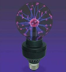 plasmalightbulb Plasma Light Bulb   purple plasma now socket friendly