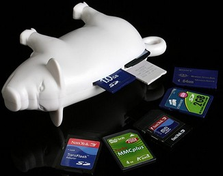 usbpiggycardreader small USB Piggy Card Reader   its sow boaring
