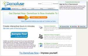 demofuse small Three super useful web demo tools   flash, cast and tour