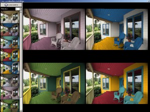 colorstylestudio small Color Style Studio   test your home paint schemes quickly and easily