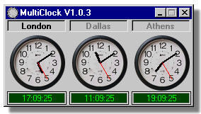 multiclock MultiClock   flexible free on screen clock program