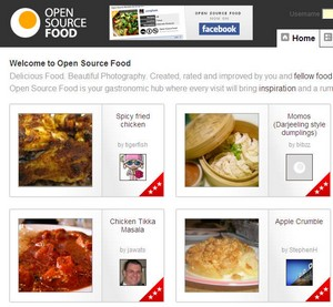 opensourcefood small Open Source Food   Web 2.0 recipes done to perfection