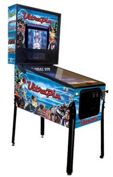 12in1digitalpinballtable small UltraPin 12 in 1 Digital Pinball Table   Mssrs Bally and Williams spin spin spin