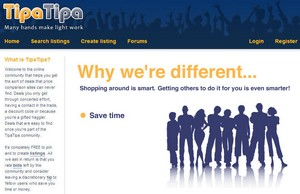 tipatipa small TipaTipa   get paid for helping others find a good deal