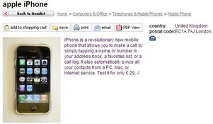 iphonerental small Rent an iPhone   and save your purchase pennies for the upgraded model?
