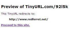tinyurlpreview2 small TinyURL Preview   see whats behind those tiny URLs before you click