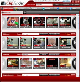 ashampooclipfinder small1 Ashampoo Clip Finder   superb freeware program for finding, viewing and downloading video clips