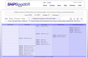 shipgooder small ShipGooder   shipping rate comparison engine helps you send stuff cheaper
