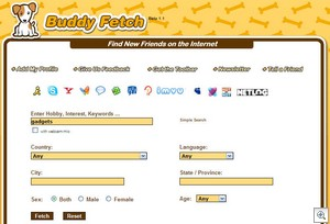 buddyfetch3 thumb Buddyfetch   the search engine for friends