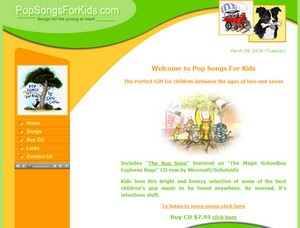 popsongsforkids small Pop Songs For Kids   happy clappy fun time frolics