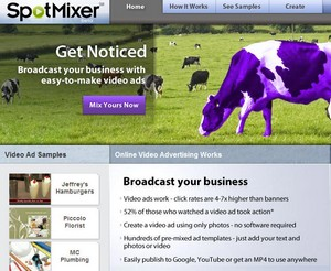 spotmixer small SpotMixer   make your own video ads for free