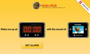 kukuklok small KukuKlok   delicious Swiss made online alarm clock promises perfect timekeeping