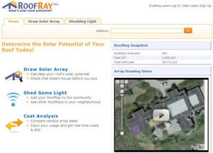 roofray small RoofRay   find out how much youll save using solar in your home