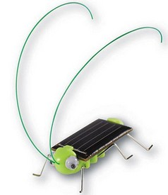 diysolargrasshopper small DIY Solar Powered Grasshopper   Jimminy Cricket, Batman...