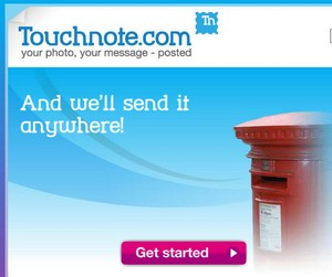 touchnote small Touchnote   the digital to analogue greetings card