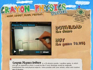 crayonphysicsdeluxe small Crayon Physics Deluxe   the game is out...get it NOW!