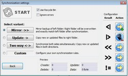 freefilesync2 small FreeFileSync   cool free folder comparison tool
