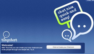 tinychat small TinyChat   cool ultra fast chat room maker