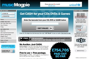musicmagpie small Music Magpie   get cash for your old CDs, DVDs and games