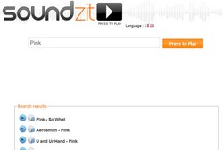soundzit2 small1 Soundzit   300 million songs, instantly, no sign up...