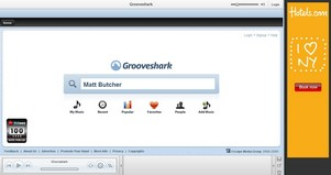 grooveshark small Grooveshark   the incredible morphing music service