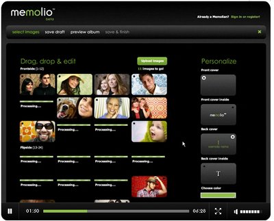memolio2 Memolio   super stylish digital photo printing service