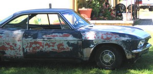 2450paintjob small $50 Paint Job   how to restore a tatty car for a bargain basement price