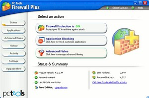 pctoolsfirewallplus small PC Tools Firewall Plus   free firewall software for personal computers