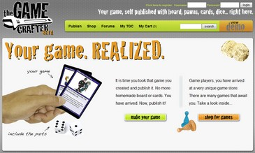 gamecrafter small1 Game Crafter   DIY online game maker fun for all the family