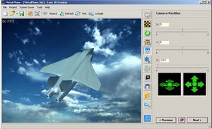 easy3dcreator small Easy 3D Creator   freeware screensaver maker