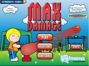 maxdamage small Max Damage   destroy gadgets, have fun...