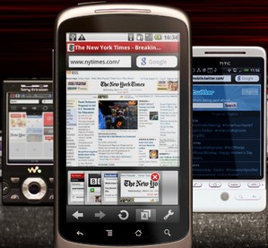 operaminiandroid small Opera Mini for Android   the mobile phone web browser youve been waiting for...