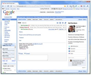 rapportive small Rapportive   cool browser plugin adds social networking data to Gmail